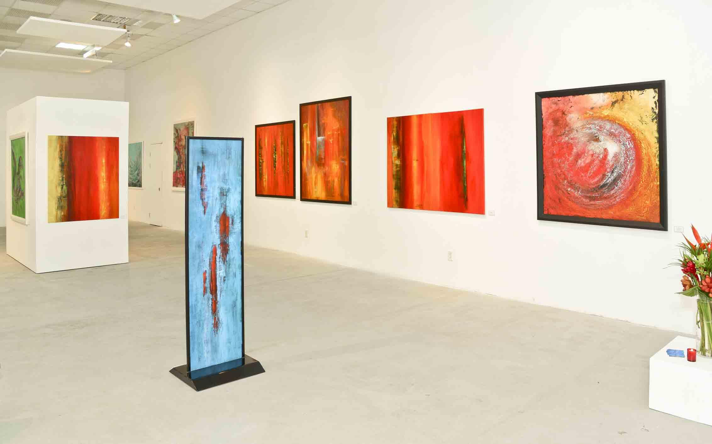 solo exhibit de Hal  2014