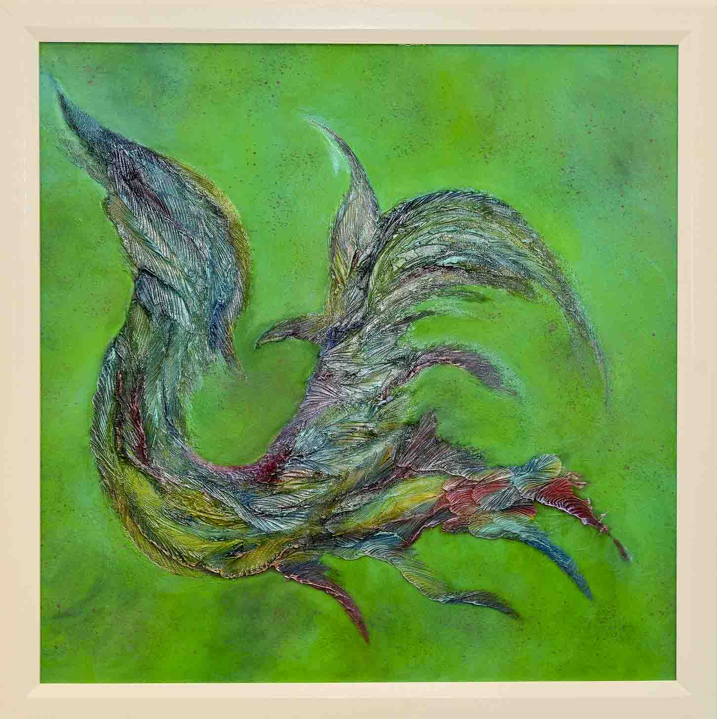 Phantasy Bird 135x135cm